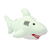 Shark Soft Stuffed Toy Animal Plush Toy Huggable Play Plushies Green 30cm