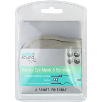 Safe + Sound Deluxe Eye Mask & Earplugs