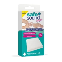 Safe + Sound Health First Aid Absorbent Lint 1 Pack 15g