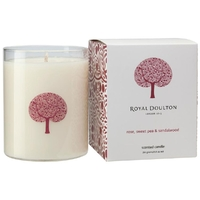 Royal Doulton Fable Scented Candle Rose Sweet Pea & Sandalwood 250g