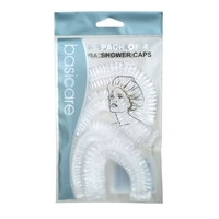 Basic Care Shower Cap Adults 4 Packs