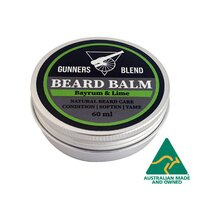 Gunners Blend Bay Rum and Lime Beard Balm 60ml