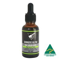 Gunners Blend Bayrum & Lime Beard Oil 30ml