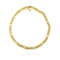Culturesse Modern Muse Gold Chain Necklace
